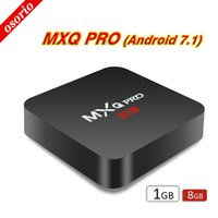 Wholesale Android Factory Settings - Factory MXQ Pro 4K Android 7.1 TV Box RK3229 Set Top Box 4K Ultra HD Quad-core Streaming Media Player Full Loaded Support WiFi HDMI2.0