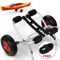 Wholesale Kayak Canoe Jon Boat Carrier Dolly Transport Cart Trailer Trolley Wheels