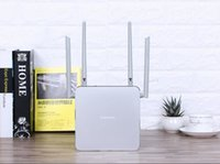 Wholesale antenna silver - Top-level PHICOMM K2P AC1200 Router Moonlight Silver double frequency 4 Antennas Intelligence WIFI wireless router relay router
