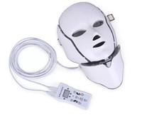 ipl luz terapia venda por atacado-Hot novo produto terapia de luz IPL rejuvenescimento Da Pele levou máscara no pescoço com 7 cores para uso doméstico frete grátis