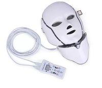 ipl ledli ışıklar toptan satış-Sıcak yeni ürün IPL ışık tedavisi Cilt gençleştirme led boyun maskesi ev kullanımı için 7 renkler ile ücretsiz kargo