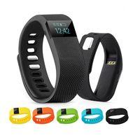 tw64 smartband pulsera deportiva inteligente al por mayor-TW64 Nueva pulsera de 12 colores Smart Band Fitness Activity Tracker Bluetooth 4.0 Smartband Sport Pulsera para IOS Android Celular