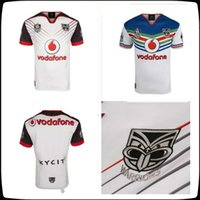 Wholesale wine transfer - Free shipping!! NRL National Rugby League New 2018 Zealand Warriors new jersey High-temperature heat transfer printing jersey Rugby Shirt