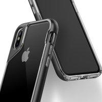 materialien für telefonkoffer großhandel-Mode-Telefonkasten für IphoneX, Iphone 7, iphone8, Iphone 7PLUS / 8PLUS, TPU + PC-Material, bequemes Gefühl