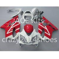 Wholesale honda repair parts - Body repair parts for HONDA CBR600 F4I 01 02 03 CBR600F4I 2001 2002 2003 F4I CBR600 White Red Fairings set HP10