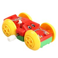 Wholesale toy cars for children for sale - Somersault Bounce Cars Two sided Pattern Clockwork Funny Toys Gift for Kids Children Toy Cars