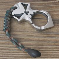 taktische selbstverteidigung ring großhandel-EPTi KLT-20 EDC Titan Schlüsselanhänger Ring Tactical Outdoor Selbstverteidigung Überleben zu Familie Auto camping Multisport Dicke 10mm w / Lanyard