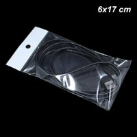 Wholesale accessories for bag making for sale - Group buy 500 x17 cm Self Adhesive Electronic Products Accessories Pack Pouch for Earphone Hanging Self Adhesive Jewelry Making Supplies Bags