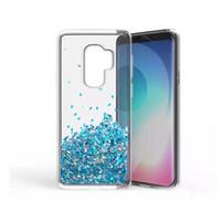 moto yıldızı toptan satış-Şeffaf telefon kılıfları Eğlenceli Glitter Yıldız Quicksand Sıvı Telefon Arka kapak Motorola MOTO E4 Için LG K10 2018 V30 Aristo 2 X210 Yeni sıcak
