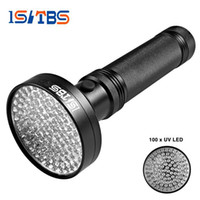 Wholesale Pet Laser Light - 18W UV Black Light Flashlight 100 LED Best UV Light and Blacklight For Home & Hotel Inspection,Pet Urine & Stains