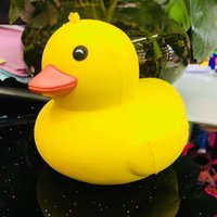 Wholesale toy yellow soft duck - Squishy Simulation PU Yellow Duck Toy Bread Cake Phone Straps Slow Rising Squishies Soft Scented Phone Key Pendant 9ys Y