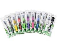 ego t blister kutusu toptan satış-CE4 ben başlangıç seti CE4 elektronik sigara blister kitleri E Çığ EGO- T pil kabarcık durumda Clearomizer E-sigara