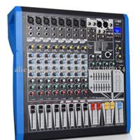 grabadora de 16 canales al por mayor-Performance Stage Mixer 8 12 16 canales Efectos digitales Grabador USB Bluetooth MP3 Wedding Mixer