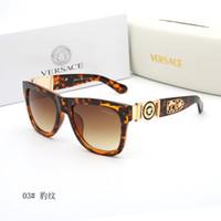 coole eyewear für männer großhandel-Italien Marke Übergroße Medusa Coole Sonnenbrille Super Star Eyewear Platz Full Frame Sonnenbrille UV400 Marke Designer Für Männer Frauen Outdoor Sha