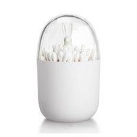 Wholesale Cotton Q Tips - HOT-Cotton Swab Holder, Small Q-tips Toothpicks Storage Organizer