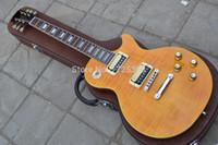 versand e-gitarre großhandel-Freies Verschiffen-Schrägstrich-Appetit-natürlicher Gelbimpuls-Gitarren-Schrägstrich G-elektrische Gitarre
