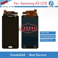 Wholesale lcd screen galaxy s3 - NL Wholesales A+++ Quality TFT LCD Display For Samsung Galaxy A3 2015 A300 A3000F SM-A300F LCD Replacement Parts With Free shipping