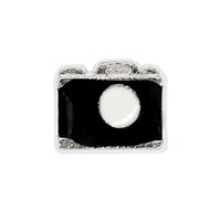 Wholesale imitation cameras resale online - 30pcs camera good quality alloy DIY floating charms for glass living memory lockets