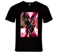 Wholesale free discount cards online - GAMBIT SUPERHERO X MEN MOVIE CARD T Shirt Short Sleeve Plus Size discount hot new top t shirt