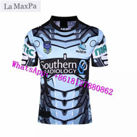 Wholesale cricket jersey online - La MaxPa Rugby Knights Jerseys Sydney Fours home and away cricket Blue Sharks Rugby jerseys Cowboys Free