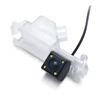 kia ters kamera toptan satış-Kia K2 Rio Hatchback için CCD Araba Dikiz Kamera Ceed Pride 2013 Otomatik Yedekleme Park Kameraları Ters Araç Kamera