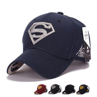 Wholesale Snapback Caps Superman - 2017 Gorras Superman Cap Letter Casquette Superman Baseball Cap Men Brand Women Bone Diamond Snapback For Adult Trucker Hat