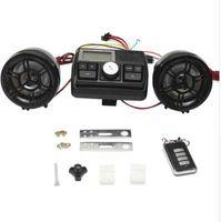 ingrosso sistema audio nuovo auto-Allarme antifurto per moto Sistema audio per auto Car Audio MP3 Radio FM Altoparlanti stereo Amplificatore per la protezione antifurto Novità