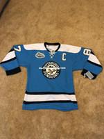 crosby jersey de invierno al por mayor-Barato personalizado Sidney Crosby Winter Classic CCM Mens GOALIE CUT jerseys de costura