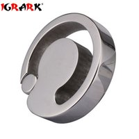 Wholesale Steel Balls Stretcher Ring - Stainless Steel Ball Stretcher For Men Cock Ring U Groove Design Scrotum Rings,Pendant Bondage Metal Cockring Adult Sex Toys