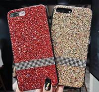 Wholesale star glitter rhinestone case for sale – best Diamond bling phone Case For Iphone I7 Iphone7 Plus S Bling Glitter Gold Foil Star Phone Cover
