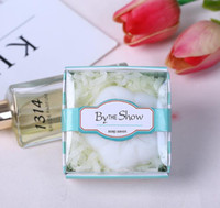 mini soap wedding favors scented bridal shower giveaways anniversary party gifts 12pcs lot wholesale free shipping