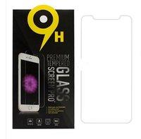 paketlenmiş cam ekran koruyucu toptan satış-IPhone XS için Max XR Temperli Cam iPhone X 8 Ekran Koruyucu Iphone 6 7 Artı Film Için Galaxy J3 Başbakan J7 Perakende Paketi Ile Rafine