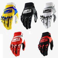 Wholesale golf gloves red - Off-Road Motocross Gloves Outdoor Sports Long Finger Gloves Bicycle Riding 100% Gloves Protective Gear Men Support FBA Drop Shipping H522F