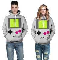 Wholesale anime tracksuit online - Anime Fashion Men Women Sweatshirt d Print Adventure Time Hooded Men Hoodies With Cap Pockets Lovely Tracksuits