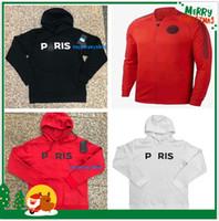 Wholesale PSG Paris hoodie jacket psg tracksuit football jacket MBAPPE champion Survêtement psg