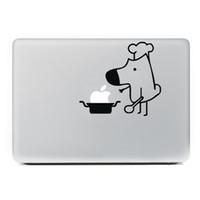 macbook hava vinili çıkartması toptan satış-Yeni Komik Tasarım Laptop Sticker Apple Macbook Pro Hava Retina için 13 15.4 11 12 MAC Vinil PC Dizüstü Cilt Bilgisayar Çıkartması Sticker