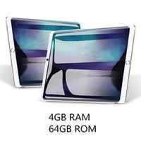 tablette zum aufruf großhandel-10-Zoll-Tablet Android 7.0 OS-Octa-Core 2.5G 1280 * 800 IPS Galss Bluetooth 4.0 RAM 4GB ROM 64GB 5.0MP 3G 4G Telefonanruf-Tablets