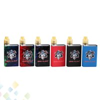 Wholesale electronic cigarette led kit - Authentic Demon Killer Tiny Kit Electronic Cigarette Metal and Resin Version 3 Colors Intuitive LED battery indicator Ecig DHL Free
