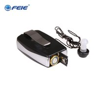 Wholesale hearing aid pocket - S-28 sound cassette Pocket High Power Wired Box Mini Hearing Aid Best Sound Amplifier Receiver Elderly Deafness Ear Care tool