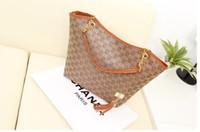Wholesale vintage handbags hobo - Women handbag shoulder bag chains canvas designer tassel brand women messenger bag black fashion women tote Free Shipping