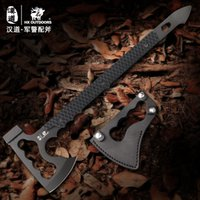 hacha contra incendios al por mayor-HX OUTDOORS Rescue Multifunctional Axe Camp Artillery Fire Rescue Axe Hammer