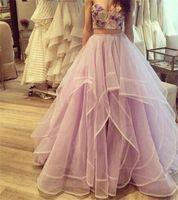 vestidos para mulheres jovens venda por atacado-2018 Princesa Saias de Cintura Alta Em Camadas de Tule Tutu Saias Longas Mulheres Jovens Senhoras Desgaste Até O Chão Organza Prom Vestidos Roupas Causal