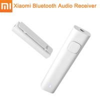 usb-lautsprecher-buchsen großhandel-Original Xiaomi Bluetooth 4,2 Audio Empfänger Wireless Adapter 3,5mm Jack AUX Audio Musik Auto Lautsprecher Kabelgebundenen Kopfhörer Typ C Telefon