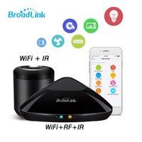evrensel ir uzaktan toptan satış-Orijinal Broadlink RM3 mini 3 Evrensel 4G Kablosuz WIF + IR + RF Akıllı Uzaktan Kumanda Zamanlama Kontrol Via IOS Android Akıllı Ev
