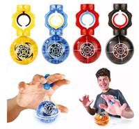 bolas magnéticas cubos al por mayor-LeadingStar Finger Magnetic Ball Children LED Fancy Toy Luminous Intelligence Cube Adult Flash Reducir la presión de juguete