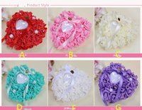 Flower Ring Pillows Colors Bridal Accessories Wedding Supplies Hand Made Flowers Wedding Accessories