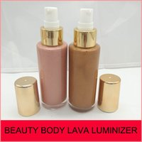 Wholesale full size clothing - BEAUTY BY RIHANNA BODY LAVA LUMINIZER HIGHLIGHT 100% 90ML 2 color Who Needs Clothes BROWN SUGAR