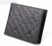 Wholesale photo gift business for sale - Men s Luxury Fashion Business Wallet Short Premium Gift Bag Credit Card Holder Pocket Photo High Quality Designer Small Wallets Withnot Box