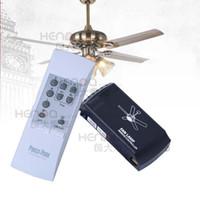 ingrosso interruttore della luce del ventilatore remoto-POSCO Ventilatore a soffitto Telecomando Ventola Lampada Telecomando wireless Ventilatore a soffitto Interruttore luci Regolatore di velocità