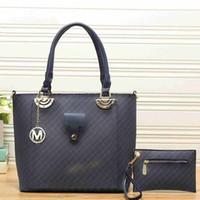 Wholesale ladies piece handbag online - Designer handbags piece composite designer bags women messenger designer bags totes cluth ladies purses bag